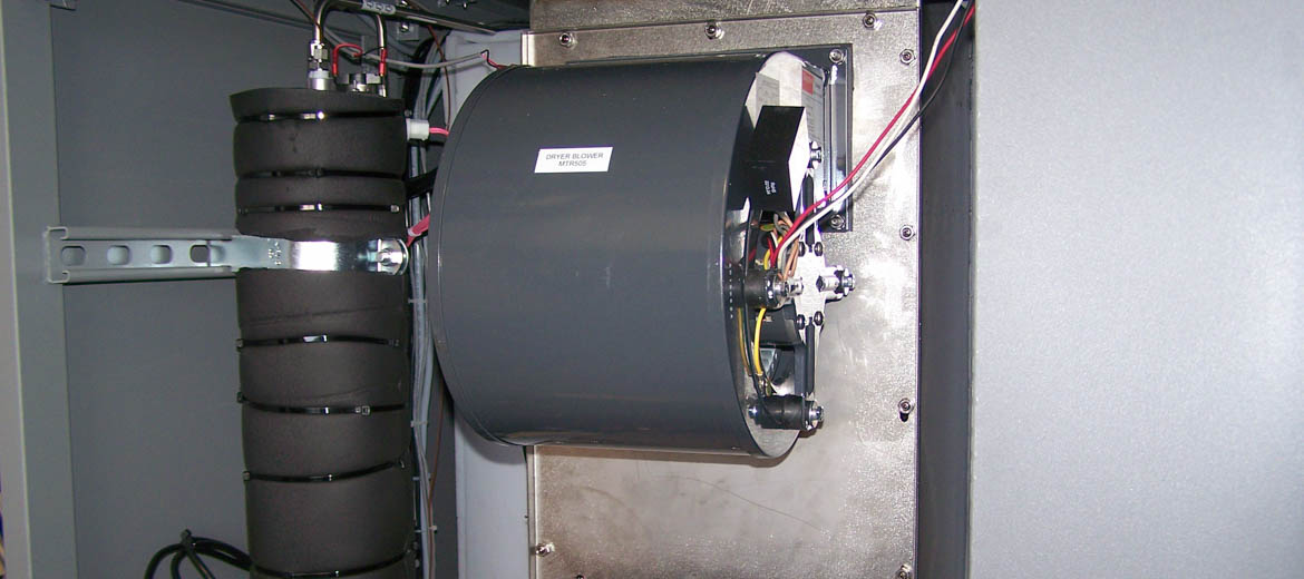Dryer and Inlet Heater